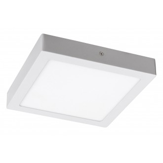 RABALUX 2664 | Lois Rabalux fali, mennyezeti LED panel négyzet 1x LED 1400lm 4000K matt fehér, fehér