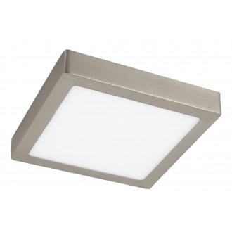 RABALUX 2668 | Lois Rabalux fali, mennyezeti LED panel négyzet 1x LED 1400lm 3000K szatén króm, fehér