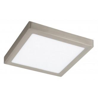 RABALUX 2669 | Lois Rabalux fali, mennyezeti LED panel négyzet 1x LED 1700lm 3000K szatén króm, fehér