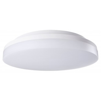 RABALUX 2698 | Zenon Rabalux mennyezeti lámpa kerek állítható színhőmérséklet 1x LED 2400lm 3000 - 4000 - 6000K IP54 IK08 fehér