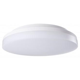 RABALUX 2699 | Zenon Rabalux mennyezeti lámpa kerek mozgásérzékelő állítható színhőmérséklet 1x LED 1800lm 3000 - 4000 - 6000K IP54 IK08 fehér