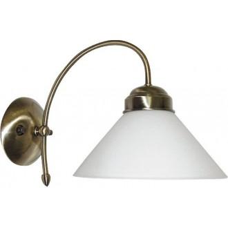 RABALUX 2701 | Marian Rabalux falikar lámpa 1x E27 bronz, fehér
