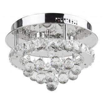 RABALUX 2734   Asley Rabalux mennyezeti lámpa 1x LED 2100lm 3500K króm, átlátszó