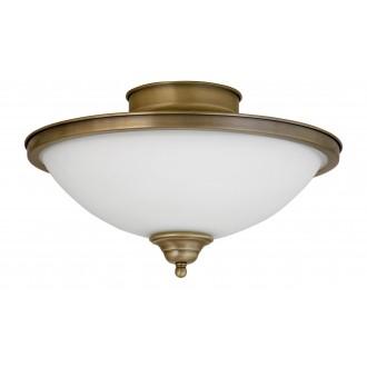 RABALUX 2759 | Elisett Rabalux mennyezeti lámpa 2x E14 bronz, fehér