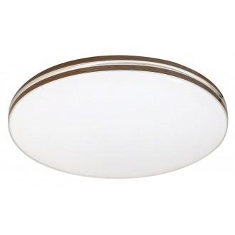 RABALUX 2763 | Oscar-RA Rabalux mennyezeti lámpa 1x LED 1350lm 4000K fehér, dió