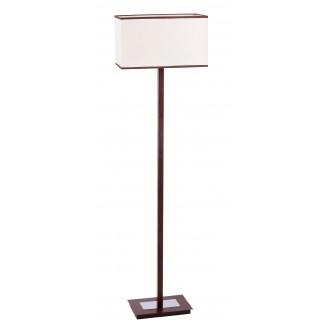 RABALUX 2900 | Kubu Rabalux álló lámpa 139,5cm vezeték kapcsoló 1x E27 bézs, barna, wenge