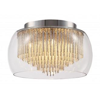 RABALUX 2916 | Mona Rabalux mennyezeti lámpa 5x G9 1850lm 2700K króm, átlátszó
