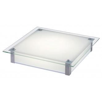 RABALUX 3067 | Carl-LED Rabalux mennyezeti lámpa 1x LED 1920lm 4000K króm, fehér, átlátszó