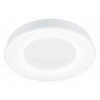 RABALUX 3083   Ceilo Rabalux mennyezeti lámpa kerek távirányító szabályozható fényerő, állítható színhőmérséklet, időkapcsoló, éjjelifény, háttérvilágítás 1x LED 3200lm 3000 <-> 6500K fehér