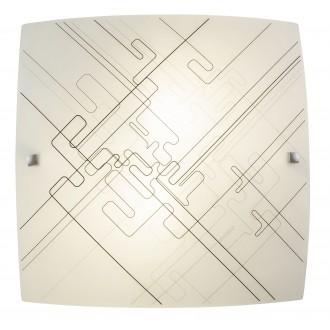 RABALUX 3293 | Roger Rabalux fali, mennyezeti lámpa 2x E27 fehér, fekete