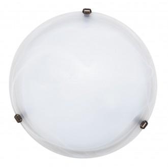 RABALUX 3303 | Alabastro1 Rabalux fali, mennyezeti lámpa 2x E27 fehér, bronz, alabástrom