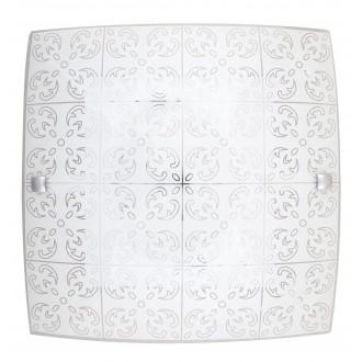 RABALUX 3329 | Fleur-RA Rabalux fali, mennyezeti lámpa négyzet 1x LED 960lm 3000K fehér, minta