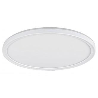 RABALUX 3428 | Pavel Rabalux mennyezeti lámpa kerek impulzus kapcsoló szabályozható fényerő 1x LED 2200lm 4000K fehér