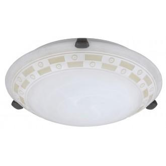 RABALUX 3483 | Tom Rabalux fali, mennyezeti lámpa 1x E27 alabástrom, bronz