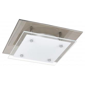 RABALUX 3494 | Janice Rabalux mennyezeti lámpa négyzet 1x LED 960lm 3000K tükör, fehér