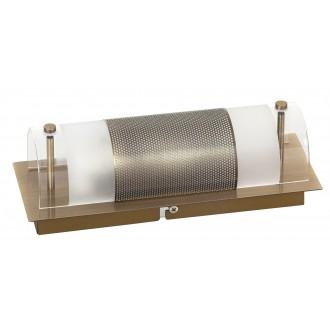 RABALUX 3551 | Periodic Rabalux fali, mennyezeti lámpa 1x E14 bronz, átlátszó, fehér