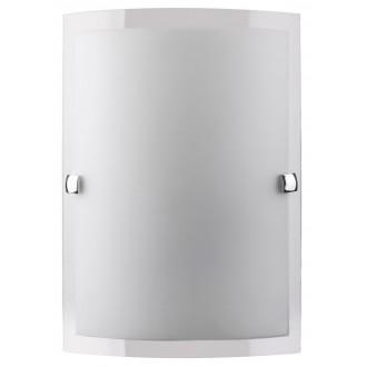 RABALUX 3687 | Nedda Rabalux fali lámpa 1x E27 opál, átlátszó, króm