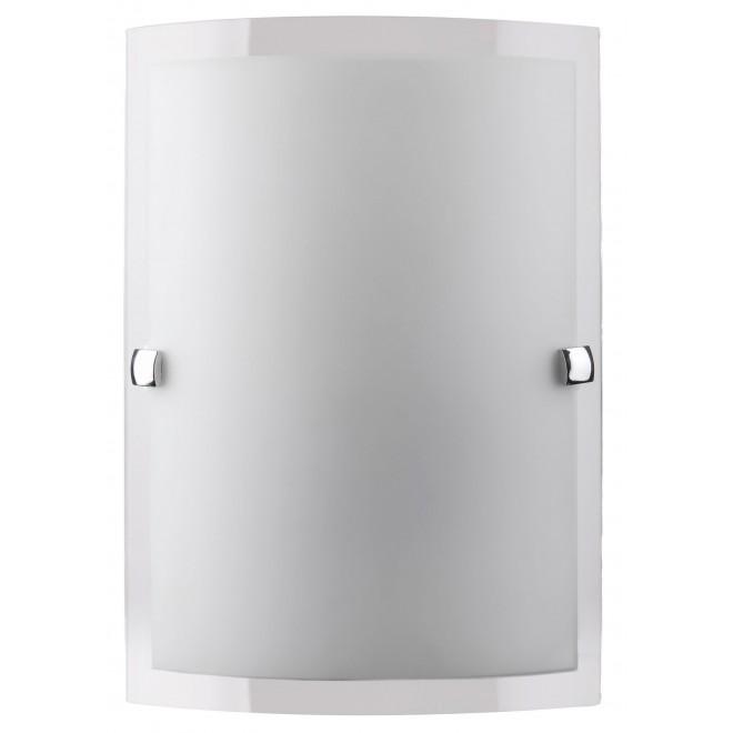 RABALUX 3687   Nedda Rabalux fali lámpa 1x E27 opál, átlátszó, króm