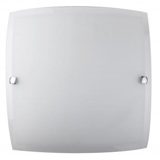 RABALUX 3689 | Nedda Rabalux fali, mennyezeti lámpa 2x E27 opál, átlátszó, króm