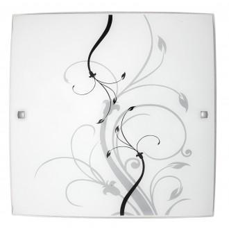 RABALUX 3693 | Elina Rabalux fali, mennyezeti lámpa 2x E27 króm, fehér, minta