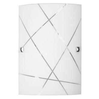 RABALUX 3697 | Phaedra Rabalux fali lámpa 1x E27 króm, fehér