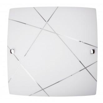 RABALUX 3698 | Phaedra Rabalux fali, mennyezeti lámpa 1x E27 króm, fehér