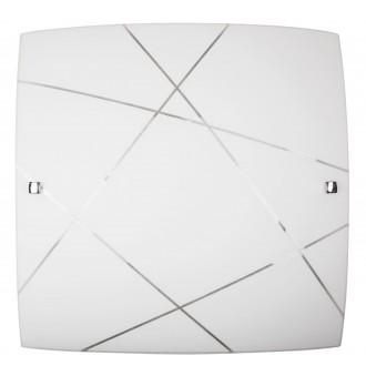 RABALUX 3699 | Phaedra Rabalux fali, mennyezeti lámpa 2x E27 króm, fehér