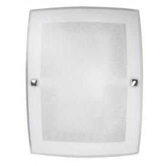 RABALUX 3837 | Charles Rabalux fali, mennyezeti lámpa 1x E27 fehér, króm