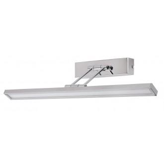 RABALUX 3907 | Picture-slim Rabalux fali lámpa elforgatható alkatrészek 1x LED 316lm 4000K króm, fehér