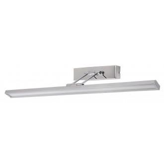 RABALUX 3908 | Picture-slim Rabalux fali lámpa elforgatható alkatrészek 1x LED 466lm 4000K króm, fehér