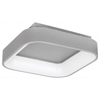 RABALUX 3926   Adeline Rabalux mennyezeti lámpa négyzet távirányító szabályozható fényerő, állítható színhőmérséklet, Bluetooth, éjjelifény 1x LED 1800lm 3000 <-> 6000K szürke, fehér