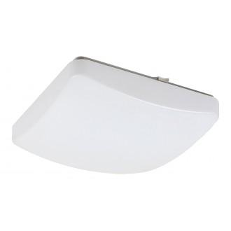 RABALUX 3935 | Igor Rabalux mennyezeti lámpa négyzet távirányító szabályozható fényerő, állítható színhőmérséklet, színváltós 1x LED 1150lm 3000 <-> 6500K fehér