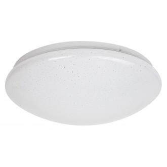 RABALUX 3937 | Lucas Rabalux fali, mennyezeti lámpa kerek 1x LED 1140lm 4000K fehér, csillogó