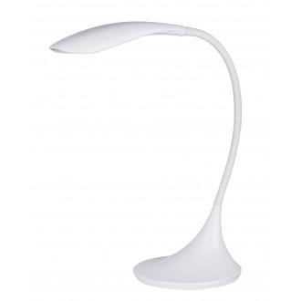 RABALUX 4166 | Dominic Rabalux asztali lámpa 52cm fényerőszabályzós érintőkapcsoló flexibilis, szabályozható fényerő 1x LED 480lm 3000K fehér