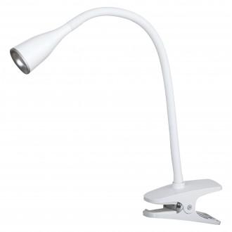 RABALUX 4196 | Jeff Rabalux csiptetős lámpa kapcsoló flexibilis 1x LED 330lm 3000K fehér