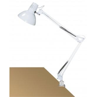 RABALUX 4214 | Arno Rabalux satus lámpa 70cm vezeték kapcsoló elforgatható alkatrészek 1x E27 fehér