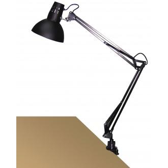 RABALUX 4215 | Arno Rabalux satus lámpa 70cm vezeték kapcsoló elforgatható alkatrészek 1x E27 fekete