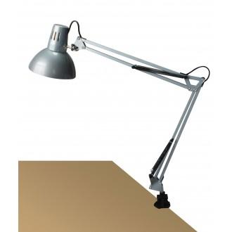 RABALUX 4216 | Arno Rabalux satus lámpa 70cm vezeték kapcsoló elforgatható alkatrészek 1x E27 ezüst