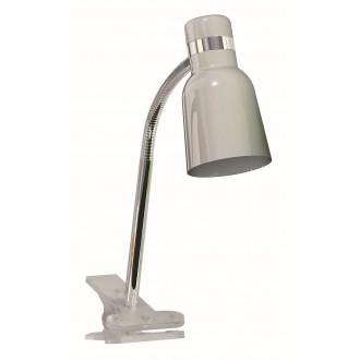 RABALUX 4292 | Color Rabalux csiptetős lámpa vezeték kapcsoló flexibilis 1x E14 ezüst, króm