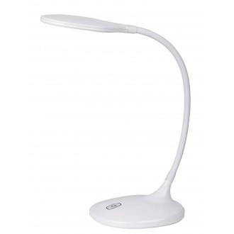 RABALUX 4318 | Aiden Rabalux asztali lámpa 43cm érintőkapcsoló flexibilis 1x LED 550lm 3000K fehér