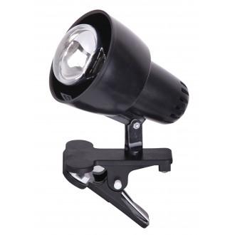 RABALUX 4357 | ClipR Rabalux spot lámpa vezeték kapcsoló elforgatható alkatrészek 1x E14 / R50 fekete