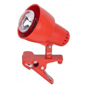 RABALUX 4358 | ClipR Rabalux spot lámpa vezeték kapcsoló elforgatható alkatrészek 1x E14 / R50 narancs