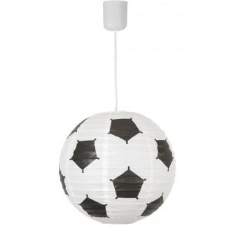 RABALUX 4470 | Frankie-Football Rabalux ernyő lámpabúra króm, fekete, fehér