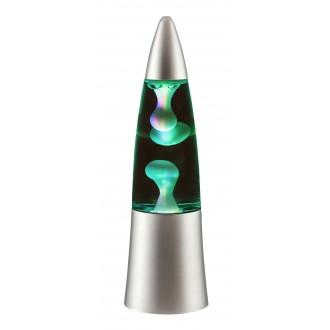 RABALUX 4537 | Otis-Tilly Rabalux dekor lámpa színváltós 1x LED RGBK ezüst