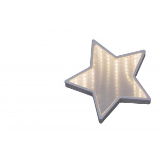 RABALUX 4553 | Starr Rabalux dekor lámpa 1x LED 140lm 6500K fehér, tükör