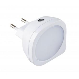 RABALUX 4647 | BillyR Rabalux éjjelifény lámpa fényérzékelő szenzor - alkonykapcsoló konnektorlámpa 1x LED 2lm 2700K fehér