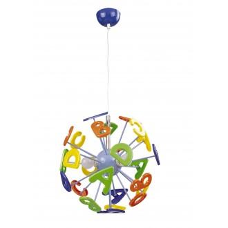 RABALUX 4716 | ABC Rabalux függeszték lámpa 3x E14 többszínű