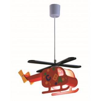 RABALUX 4717   Helicopter Rabalux függeszték lámpa 1x E27 többszínű