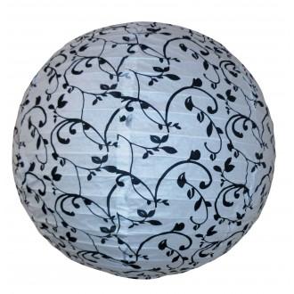 RABALUX 4726 | Blossom Rabalux ernyő lámpabúra fehér, fekete