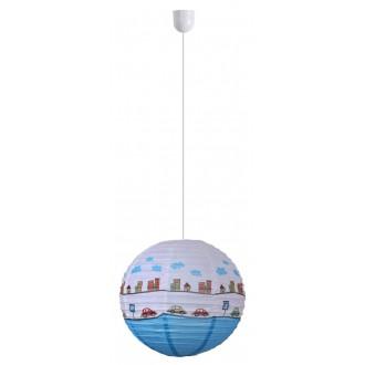 RABALUX 4890 | Sweet-Car Rabalux ernyő lámpabúra többszínű, kék